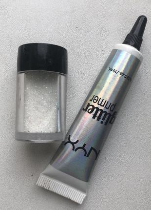 Nyx glitter face and body & primer