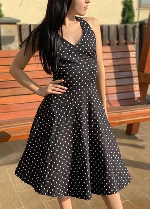 Платье в горошек😻