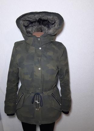 Парка h&m куртка зимняя