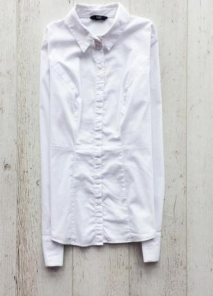 Базовая белая рубашка f&f