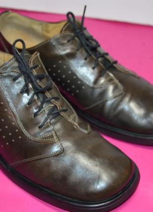 Мужские  кожаные  туфли  gortz