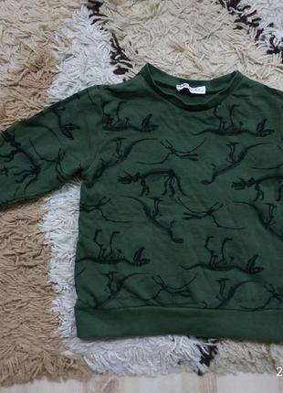 Свитшот на микро-флисе свитер кофта худи koton kids на 3-4 года (можно раньше)