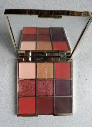 Тіні для повік палітра  eveline cosmetics sparkle