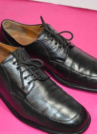 Мужские  кожаные  туфли  sioux