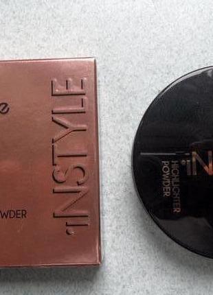 Topface instyle highlighter powder хайлайтер