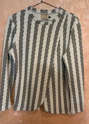 Кофта-пиджак для кормящих