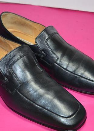 Мужские  кожаные  туфли  manz