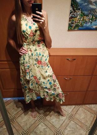 Яркое платье sangria