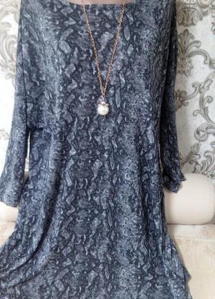 Шикарная фирменная блуза размер 64-66