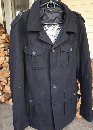 Мужское телое пальто