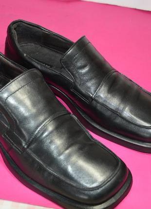 Мужские  кожаные  туфли  mexx