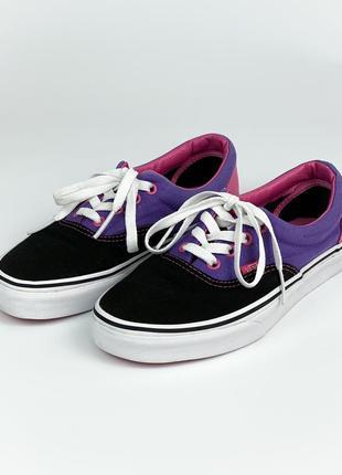 Кеды vans tb4r black/purple/pink