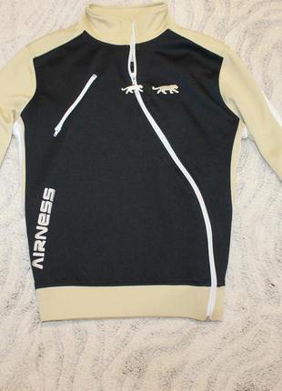 Крутая брендовая спортивная куртка ветровка бомбер кофта на молнии