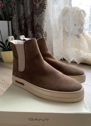 Ботиночки gant коричневые