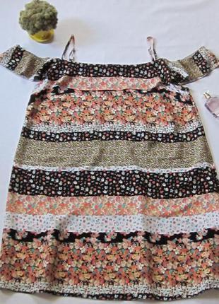 Актуальное в этом сезоне платье с открытыми плечами