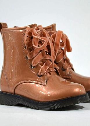 Деми ботинки doremi сапоги демі черевики для  девочки дівчинки р.25-30