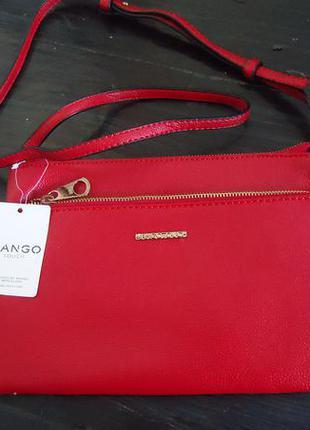 Красная сумочка mango