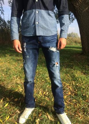 Шикарные мужские джинсы люкс бренда philipp plein