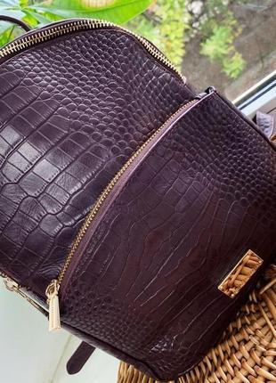 Шикарный кожаный рюкзак paul costelloe
