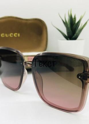 Женские солнцезащитные очки gucci  11003