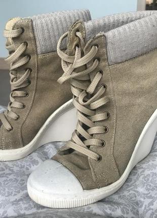 Кеды -ботинки