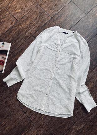 Красивая масляная жаккардовая рубашка