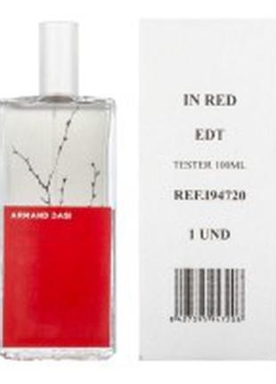 Armand basi in red 100 ml тестер