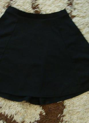 Трикотажная юбка f&f