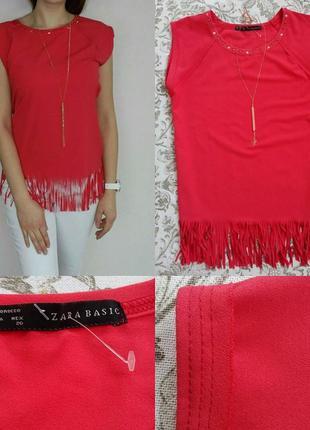 Блуза з бахромою