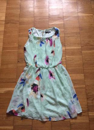 Платье цветастое atmosphere