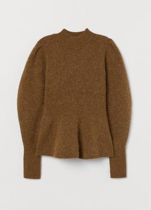 Cупер трендовый свитер из смесовой шерсти и мохера! h&m