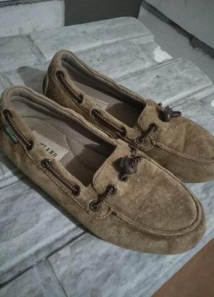 Мокасіни,туфлі замшеві