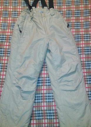 Теплый зимние штаны на рост 146-152