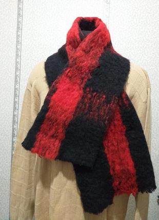 Мохеровый  шарф.(3275)