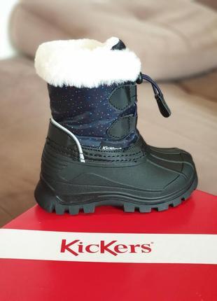 Зимние водонепроницаемые сапожки kickers