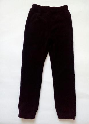 Теплые мягусенькие флисовые штаны для дома disney р.110/116