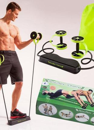 Тренажер для всего тела revoflex xtreme, ревофлекс экстрим, эспандер