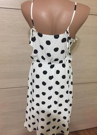 Платье в горох от reserved