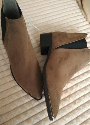 Стильні ботинки черевички ботильйони ботінки челси