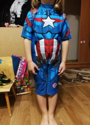 Термо костюм для плавания детский 6-7