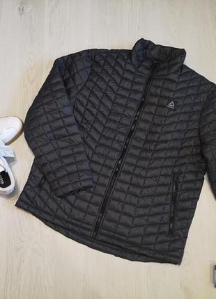 Мужская стеганная куртка от reebok, оригинал сша, xl