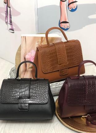 Женские кожаные сумки италия жіночі шкіряні сумки італія