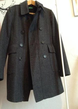 Пальто на осень от benetton.