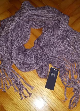 Теплый шарф от marks&spencer!