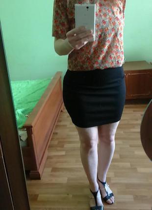 Узкая юбка с бандажным поясом от papaya