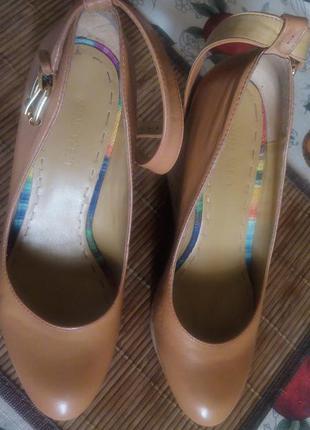 Туфли кожаные nine west