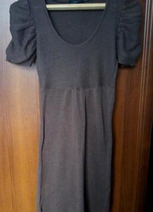 Вязаное  платья от vero moda