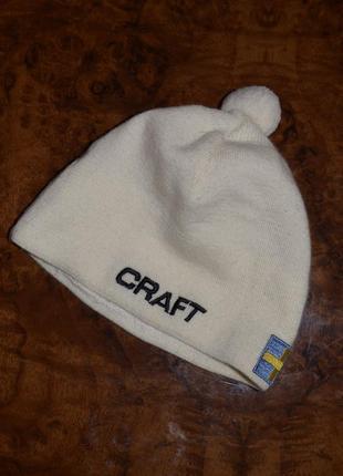 Craft шапка спортивна \ спортивная беговая лыжная
