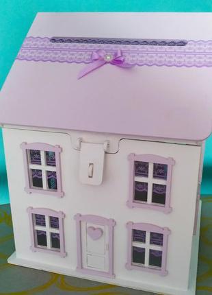 Казна домик для денежных подарков на свадьбу