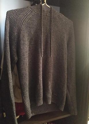 Кофта, свитер с капюшоном calvin klein